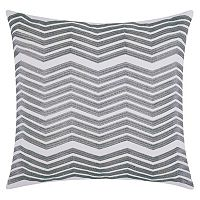 Mina Victory Lumin Thick Chevron Throw Pillow