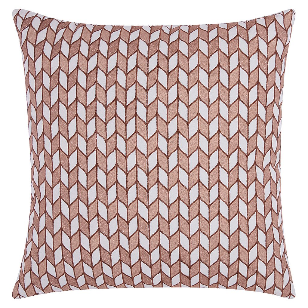 Mina Victory Lumin Block Chevron Throw Pillow