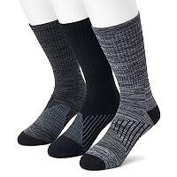 Men's Croft & Barrow® 3-pack True Comfort Crew Socks