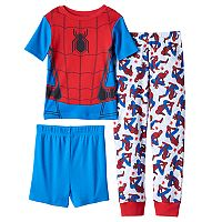 Boys 4-10 Marvel Spider-Man Homecoming 3-Piece Pajama Set