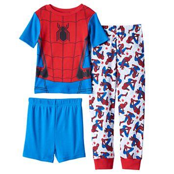 Boys 4-10 Marvel Spider-Man Homecoming 3-Piece Pajama Set