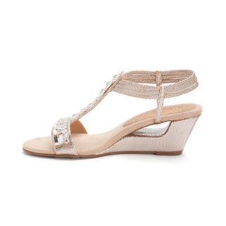 New York Transit Bold Move Women's Wedge Sandals