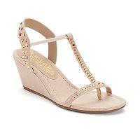 New York Transit Bright Lady Women's Wedge Sandals