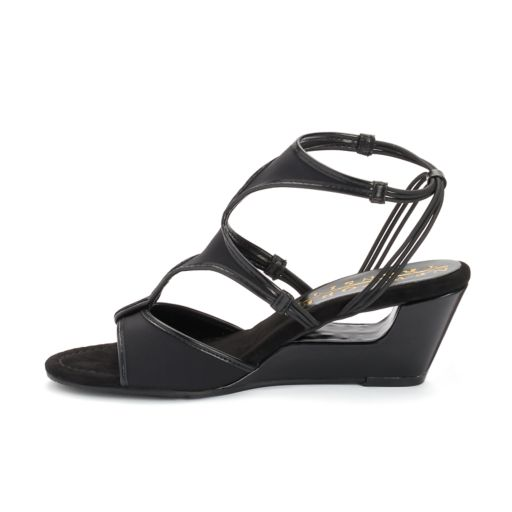 New York Transit Brightest Up Women's Wedge Sandals