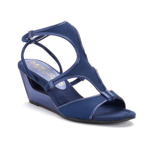 New York Transit Brightest Up Women's Wedge Sandals