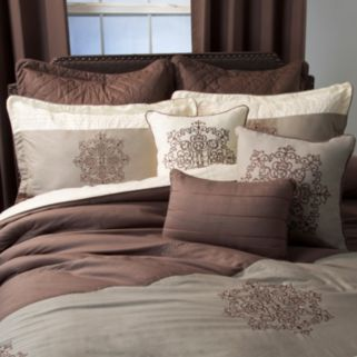 Portsmouth Home 8-piece Delaney Comforter Set