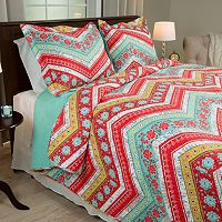 Portsmouth Home Zina Quilt Set