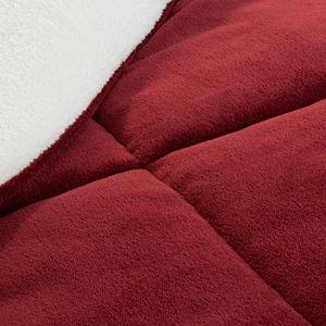 Portsmouth Home Sherpa Fleece Comforter Set