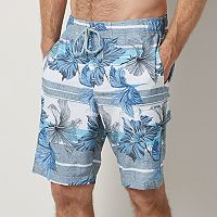 Big & Tall SONOMA Goods for Life™Stretch Swim Trunks