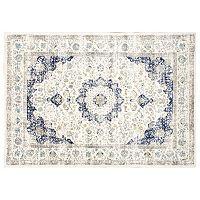 nuLOOM Bodrum Verona Framed Floral Rug - 10' x 14'