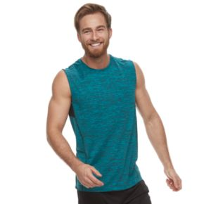 Big & Tall Tek Gear® Space-Dyed Muscle Tee