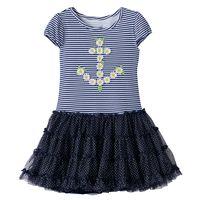 Toddler Girl Nanette Daisy Anchor Dress