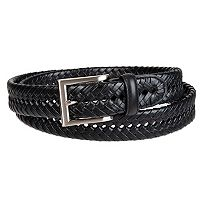 Men's Croft & Barrow® Handlaced Basket Weave Braided Belt
