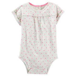 Baby Girl OshKosh B'gosh® Shirred Dolman Bodysuit