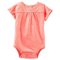 Baby Girl OshKosh B'gosh® Shirred Dolman Bodysuit