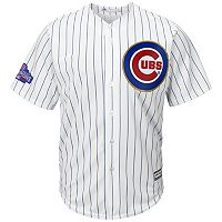 Men's Majestic Chicago Cubs 2016 World Series Champions Gold Program Cool Base Replica Jersey