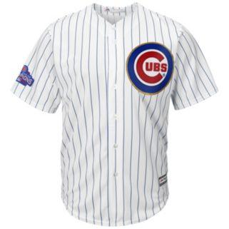 Men's Majestic Chicago Cubs Jake Arrieta 2016 World Series Champions Gold Program Cool Base Replica Jersey