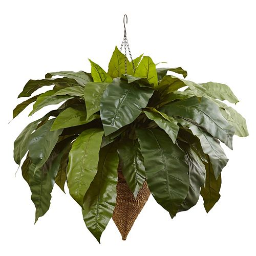 nearly natural Artificial 30-in. Giant Bird's Nest Fern