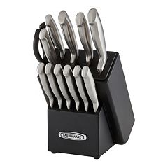 Farberware Self-Sharpening 13 pc Knife Block Set with EdgeKeeper Technology
