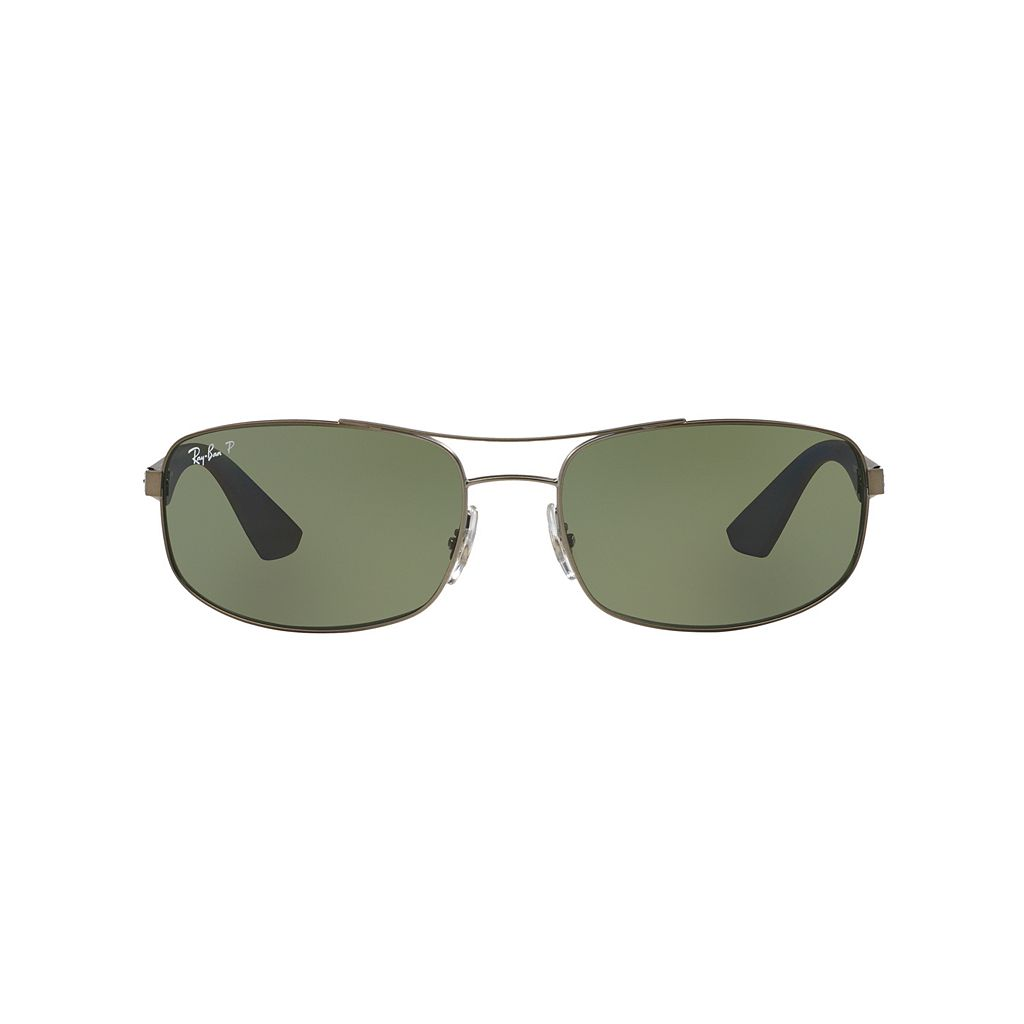 Ray-Ban RB3527 61mm Rectangle Polarized Sunglasses