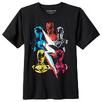 Boys 8-20 Power Rangers Movie Tee