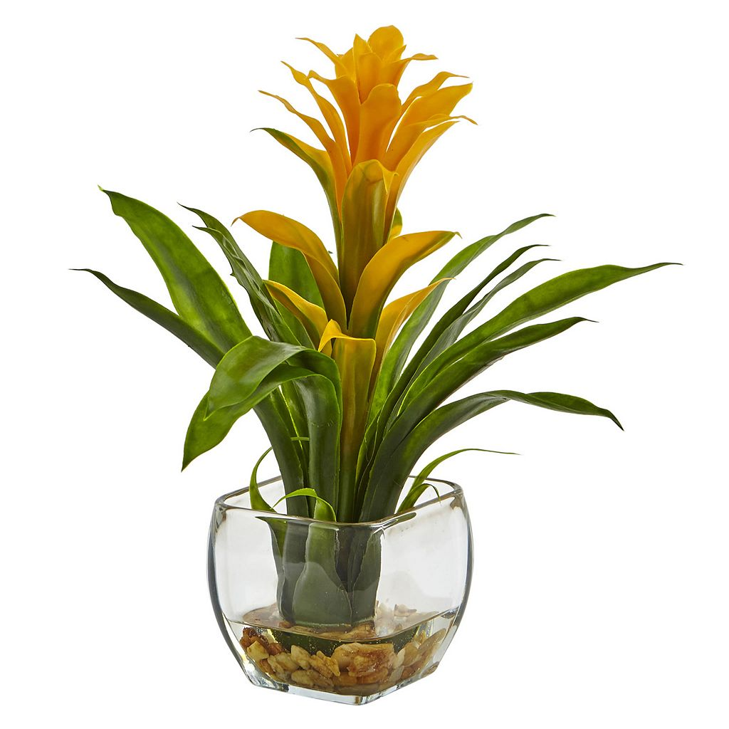 nearly natural Bromeliad Artificial Plant