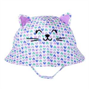 Toddler Girl Jumping Beans® Kitty Bucket Hat
