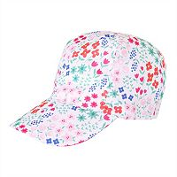 Toddler Girl Jumping Beans® Floral Baseball Cap Hat