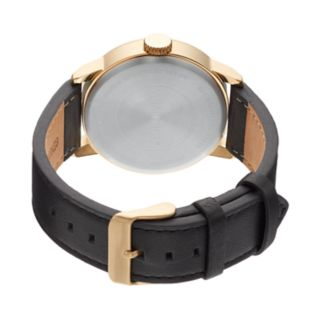 Armitron Men's Leather Watch - 20/5217WTGPBK