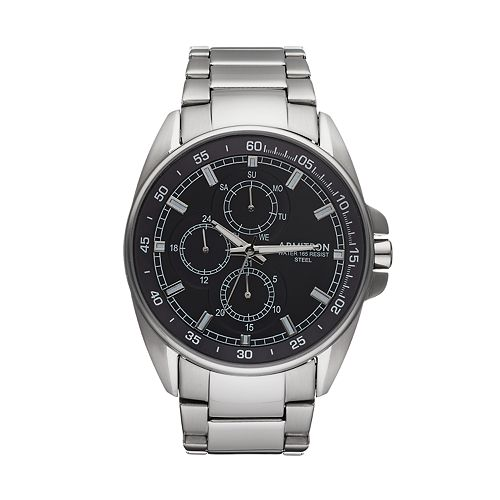 Armitron Men's Stainless Steel Watch - 20/5224NVSV