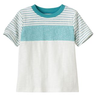 Baby Boy Jumping Beans® Striped Colorblock Tee