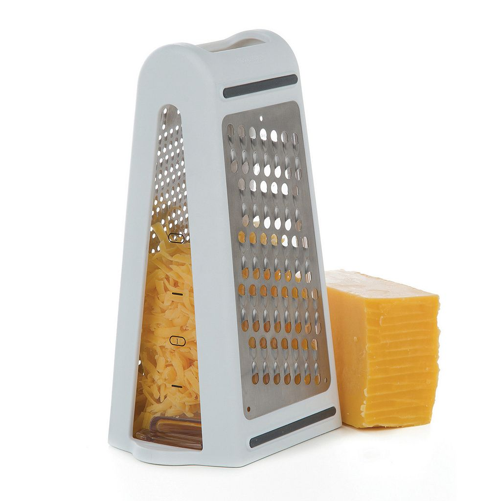 Prep Solutions 2-Way Grate & Measure Grater
