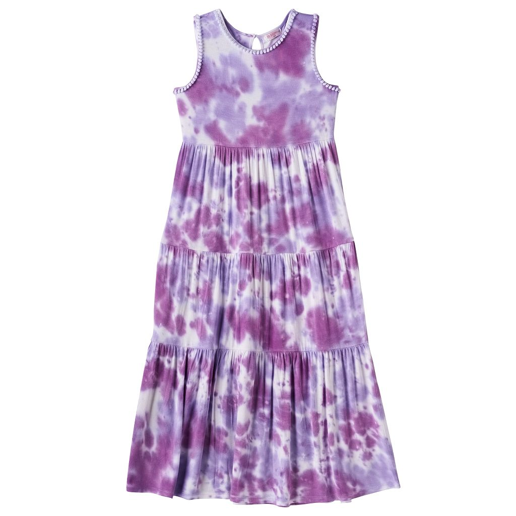 Girls 4-6x Design 365 Tie-Dye Maxi Dress