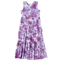 Girls 4-6x Design 365 Tie-Dye Maxi Dress