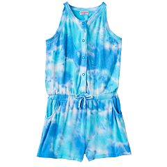Girls 4-6x Design 365 Tie-Dye Romper