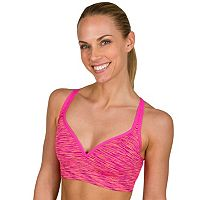 Jockey Sport Bras: Erratic Space-Dye Medium-Impact Sports Bra 9324