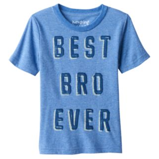 "Toddler Boy Jumping Beans® ""Best Bro Ever"" Graphic Tee"