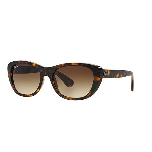 Ray-Ban Hightstreet RB4227 55mm Square Gradient Sunglasses