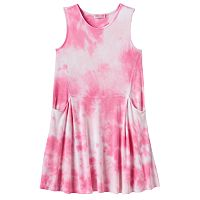 Toddler Girl Design 365 Tie-Dye Dress