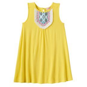 Toddler Girl Design 365 Beaded Bib Shift Dress