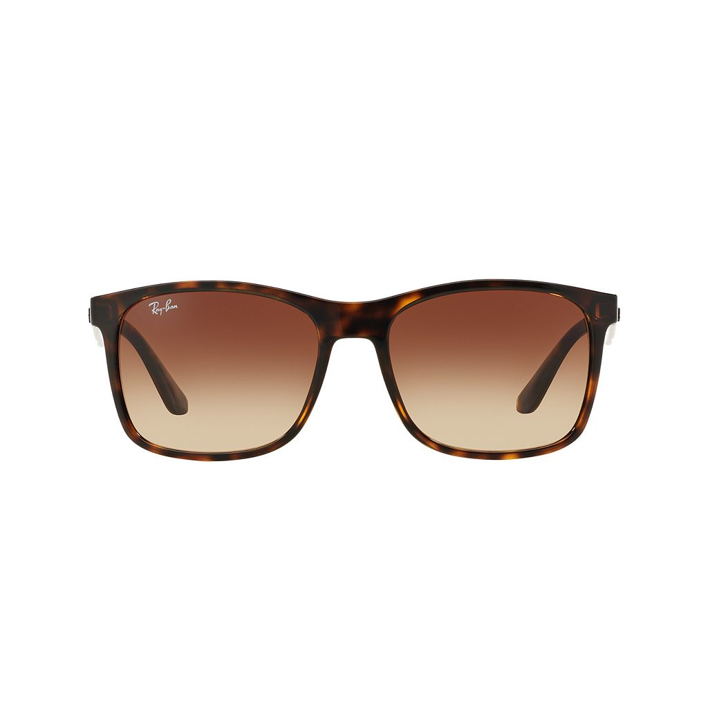 Ray-Ban Hightstreet RB4232 57mm Square Gradient Sunglasses