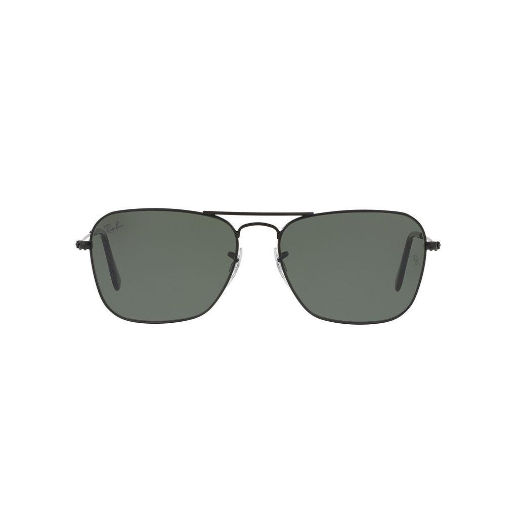 Ray-Ban Caravan RB3136 55mm Square Sunglasses