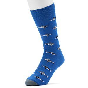 Men's GOLDTOE Shark Crew Socks