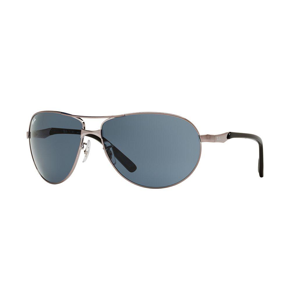 Ray-Ban RB3393 64mm Pilot Sunglasses