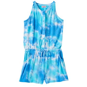 Toddler Girl Design 365 Tie-Dye Romper