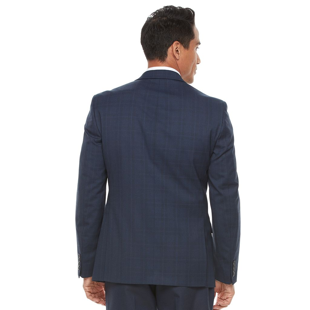 Men's Van Heusen Flex Slim-Fit Plaid Sport Coat