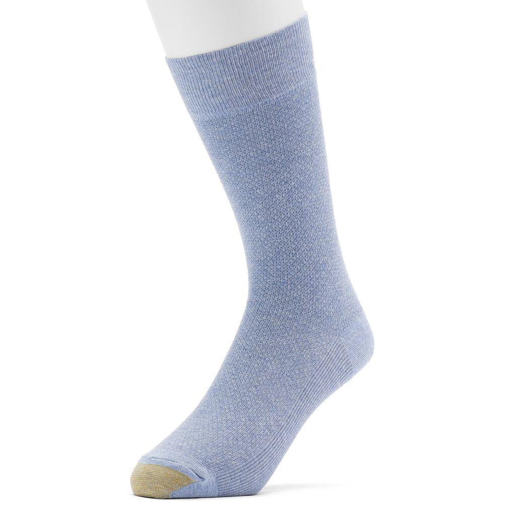 Men's GOLDTOE Pebble Beach Crew Socks