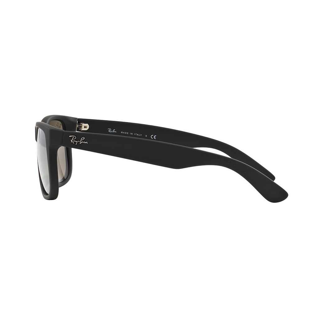 Ray-Ban Justin RB4165 51mm Rectangle Mirror Sunglasses