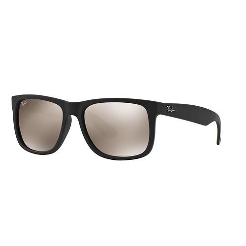 b1cb5bd36d ... coupon for ray ban justin rb4165 51mm rectangle mirror sunglasses 8a674  c3ed7