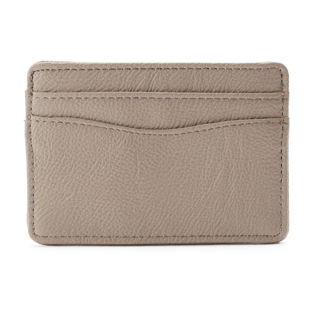 Apt. 9® Pebbled Safekeeper RFID-Blocking Card Case